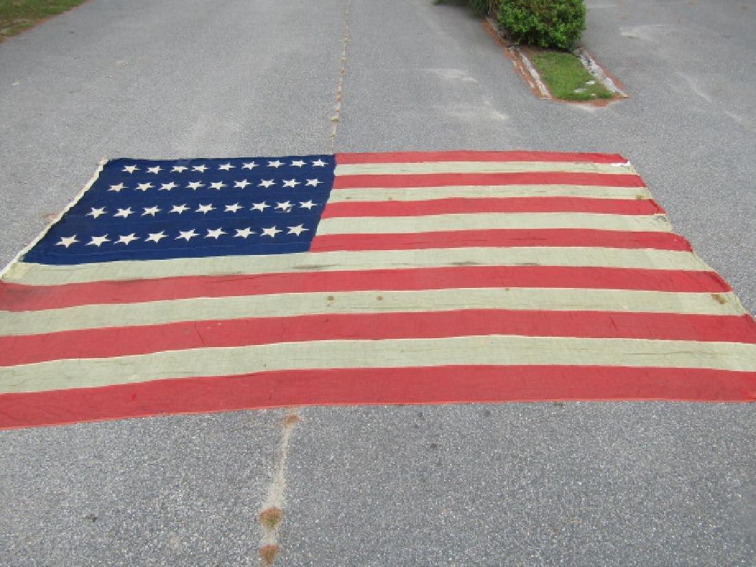CIVIL WAR GARRISON FLAG 36 STARS