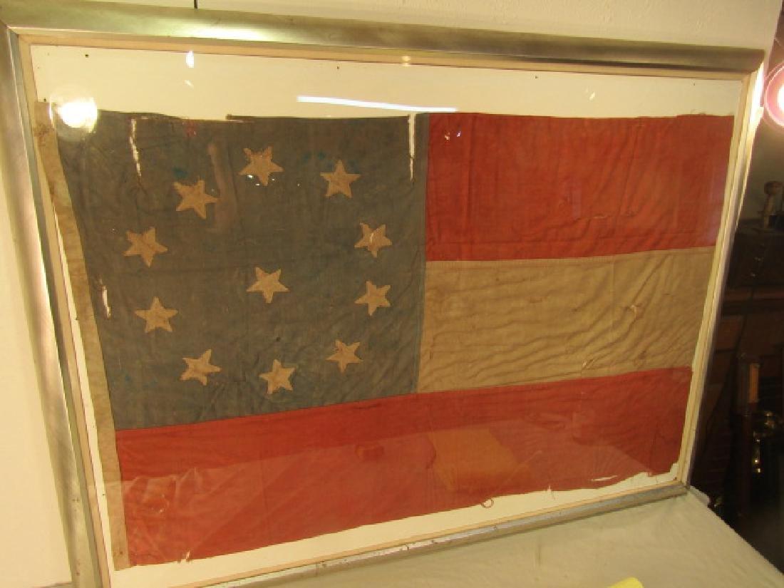 CONFEDERATE REUNION FLAG 11 STARS