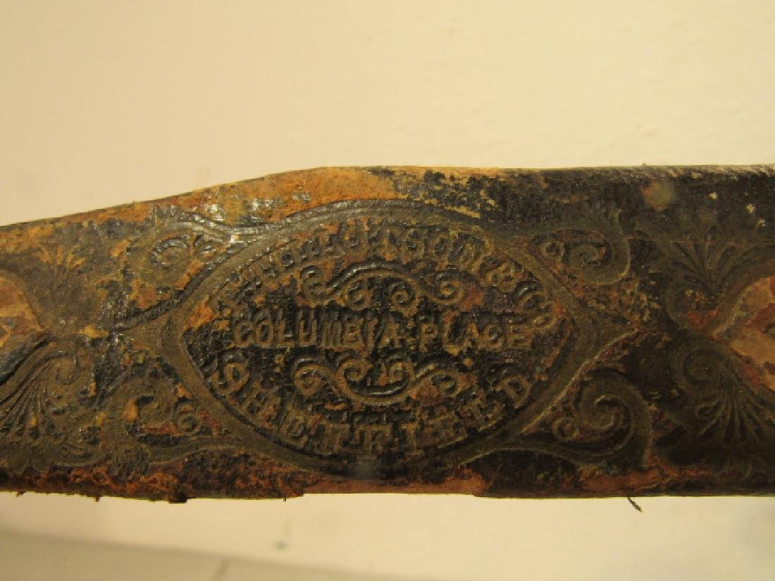 TILLOTSON BOWIE KNIFE - PATRIOTIC - 2