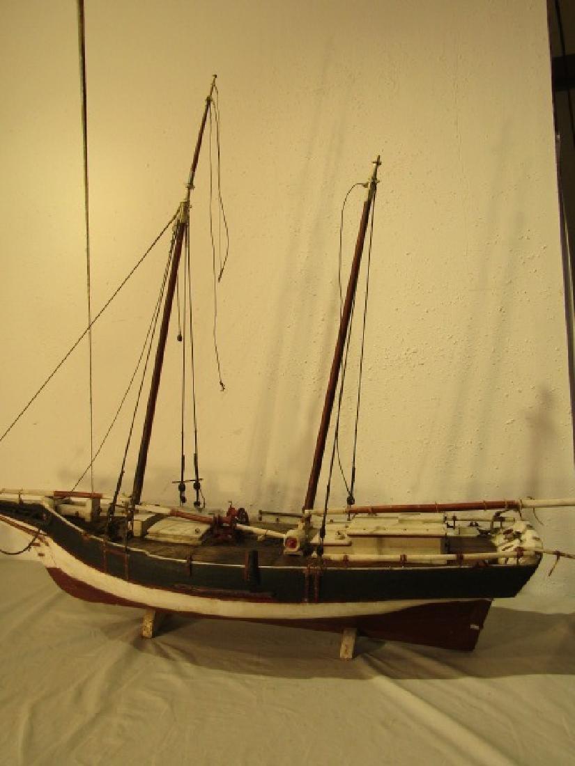 ANTIQUE MARYLAND SHIP MODEL