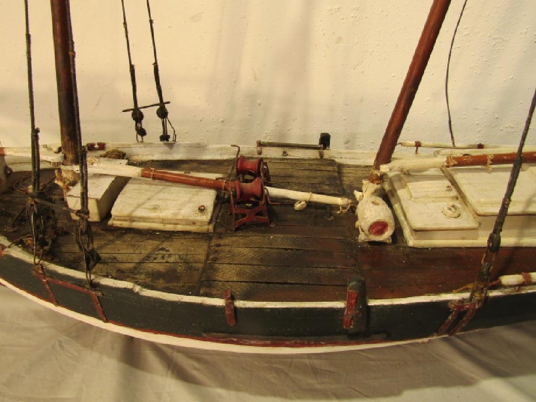 ANTIQUE MARYLAND SHIP MODEL - 3