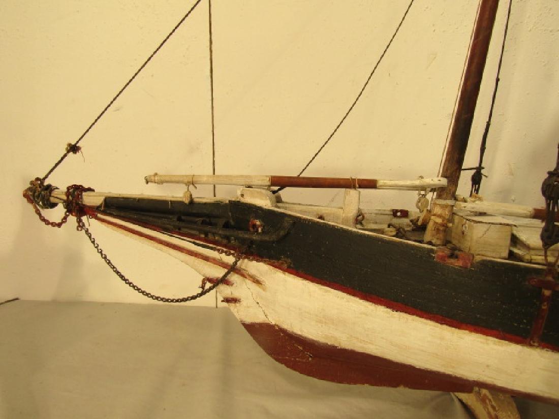 ANTIQUE MARYLAND SHIP MODEL - 4