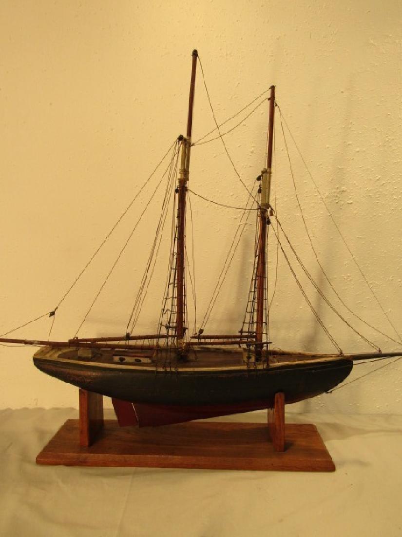 ANTIQUE LARK SHIP MODEL