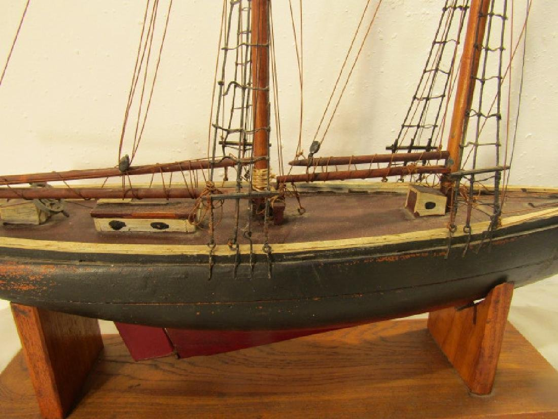ANTIQUE LARK SHIP MODEL - 2
