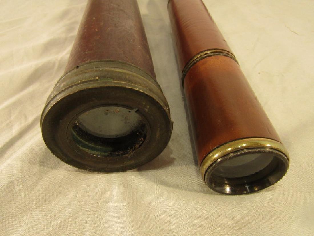 2 ANTIQUE TELESCOPES - 2