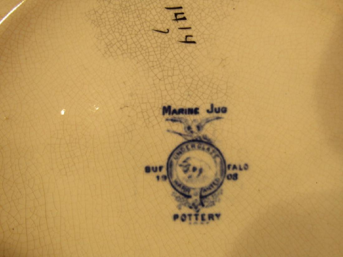 BUFFALO POTTERY MARINE PITCHER - 3