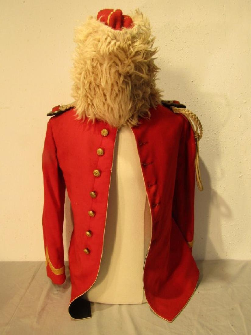 ANTIQUE MILITARY BAND UNIFORM