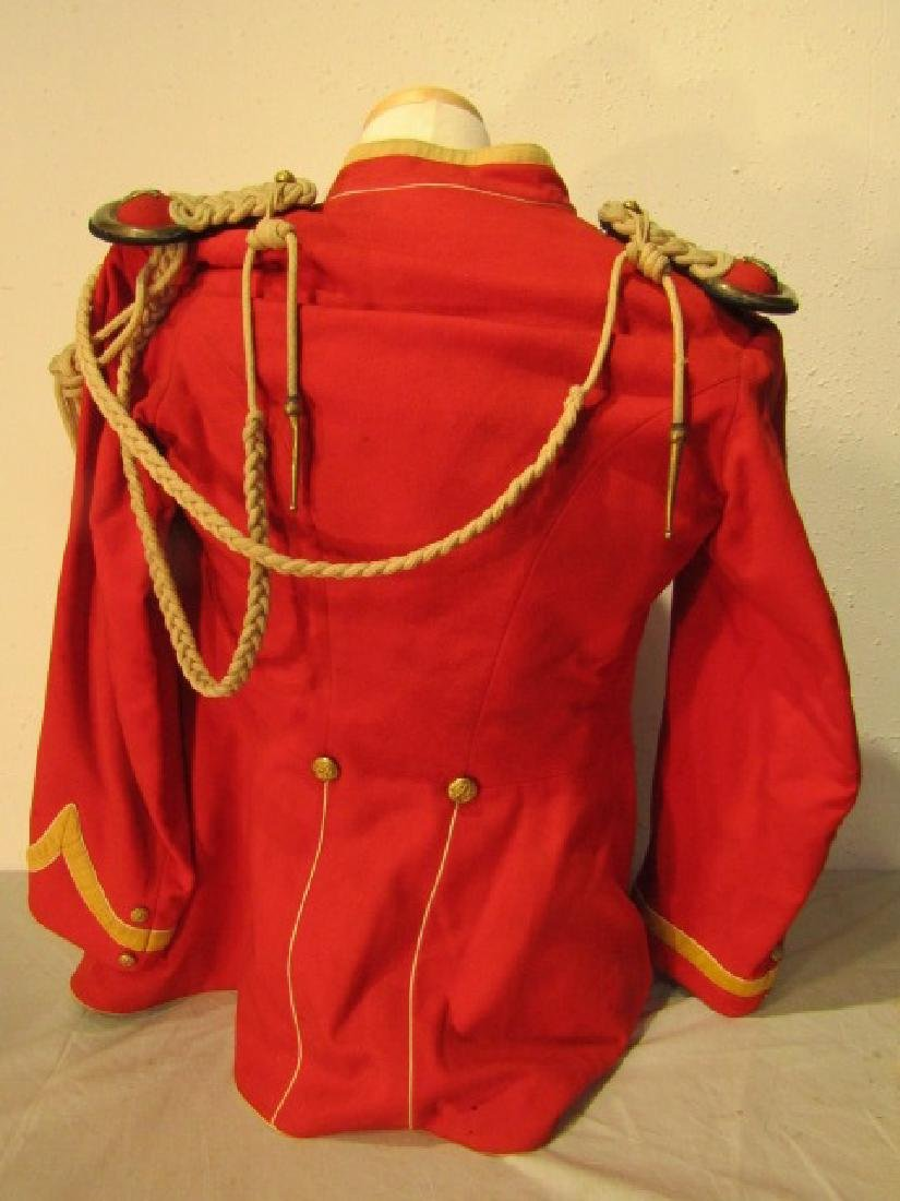 ANTIQUE MILITARY BAND UNIFORM - 3