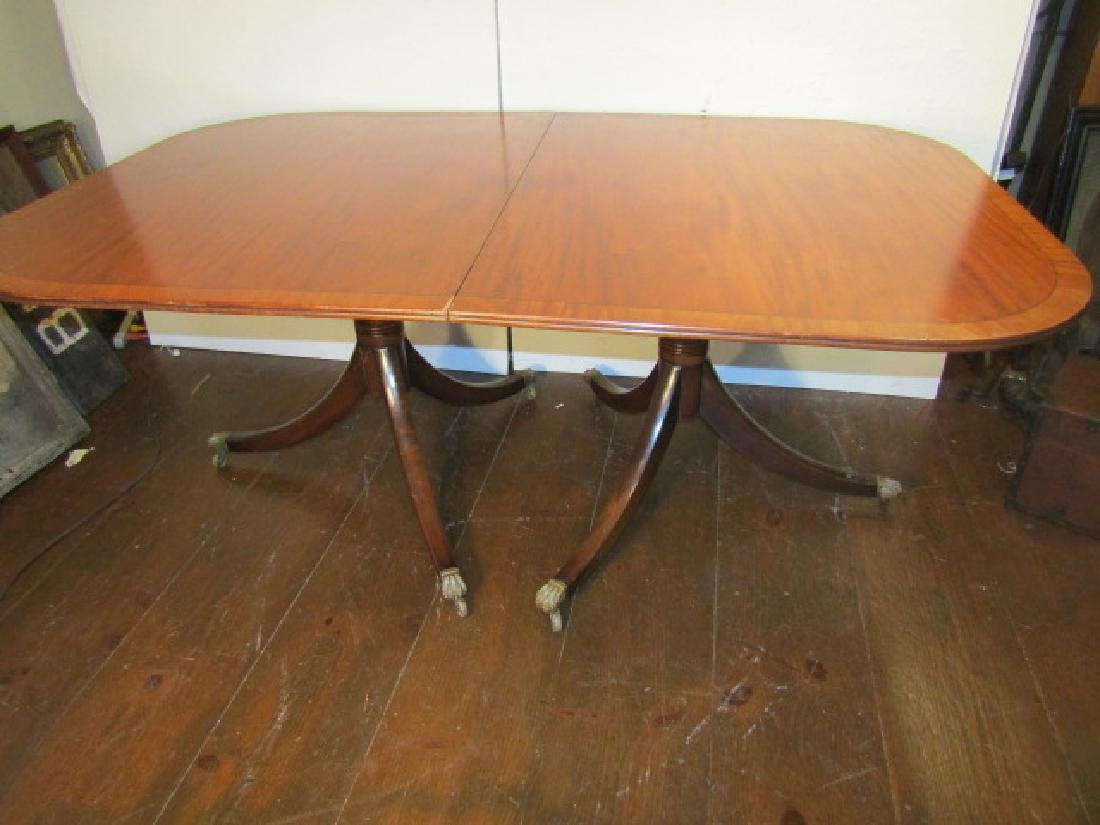 DUNCAN PHYFE INLAID DINE TABLE