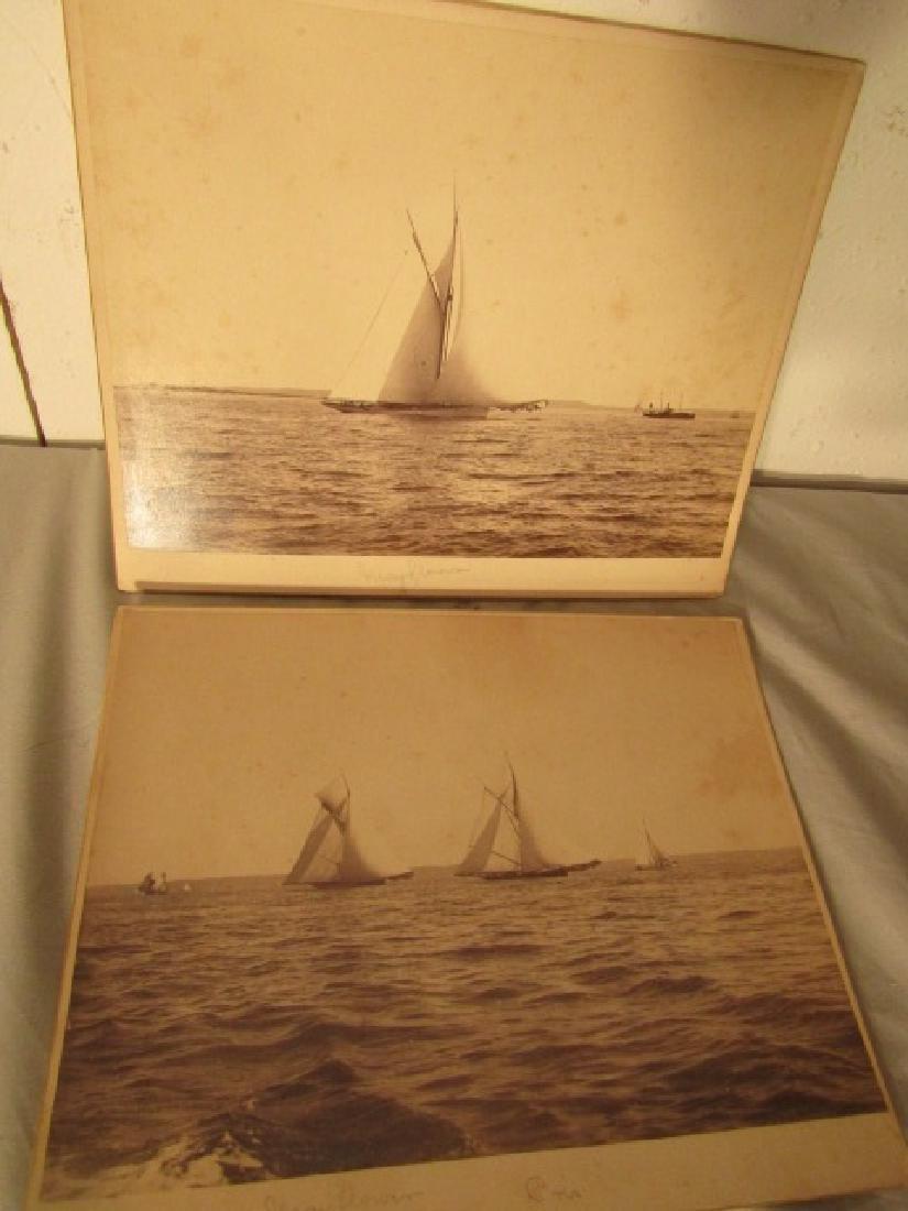 SHIP PLAQUE & YACHT PHOTOS - 2