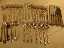 STERLING 30 PC FLATWARE SET