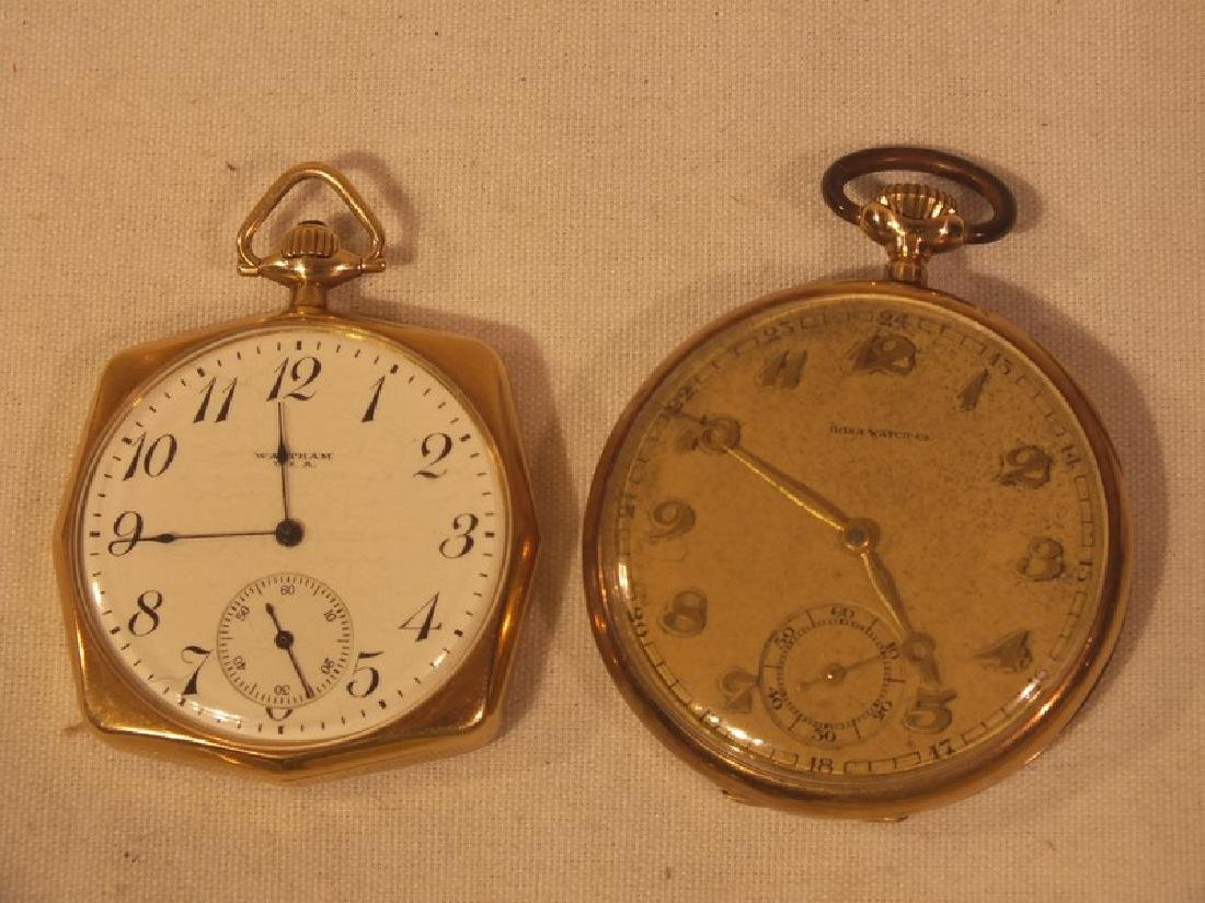 2 GOLD POCKET WATCHES