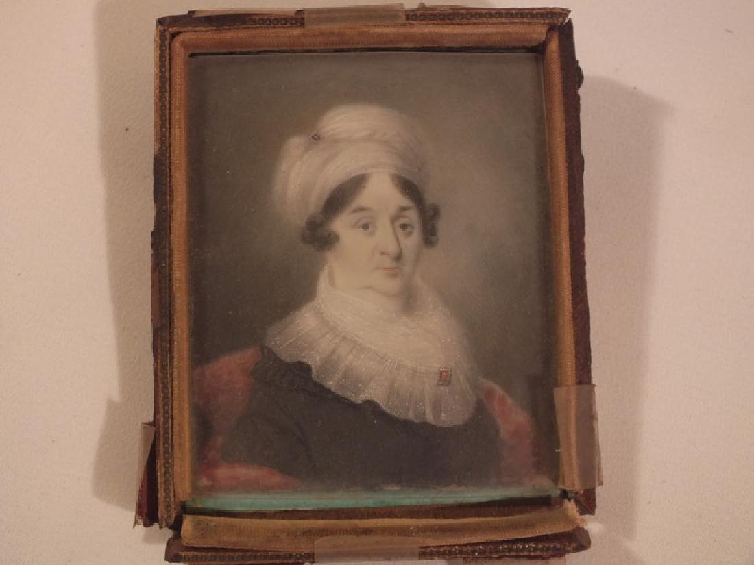1800 MINIATURE PORTRAIT OF LADY