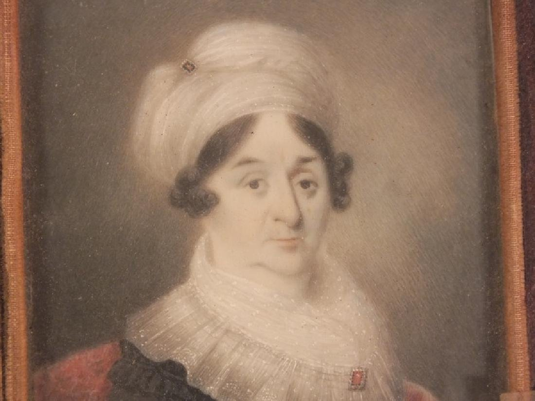 1800 MINIATURE PORTRAIT OF LADY - 2