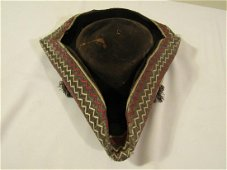 18TH C. TRICORN HAT