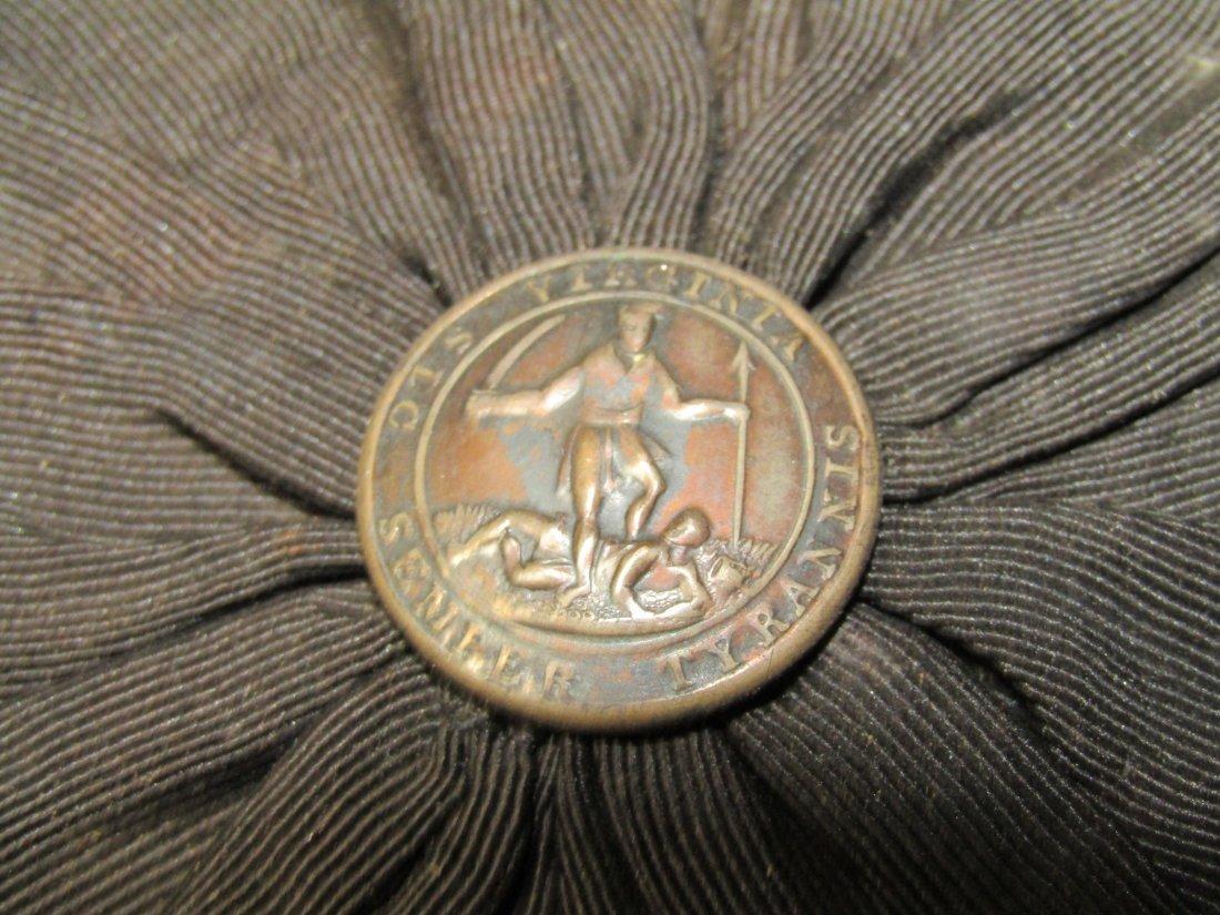 VIRGINIA MILITIA HAT IN TIN BOX - 4