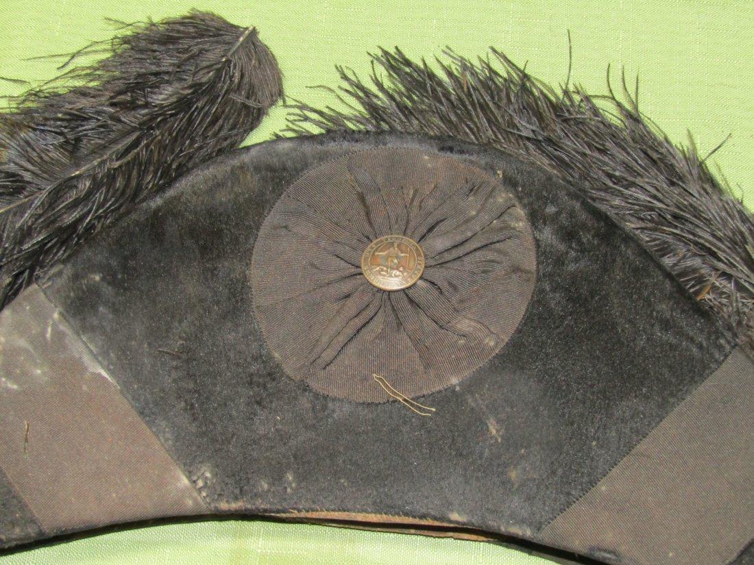VIRGINIA MILITIA HAT IN TIN BOX - 5