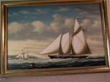 COLACICCO SHIP PAINTING
