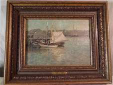 GH MCCORD HARBOR PAINTING