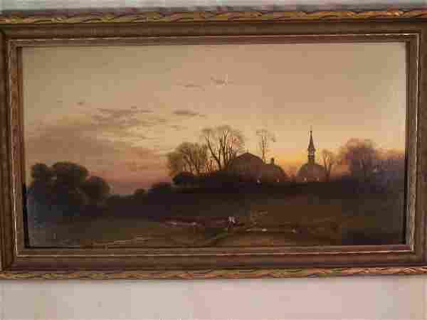 GH MCCORD LANDSCAPE PAINTING
