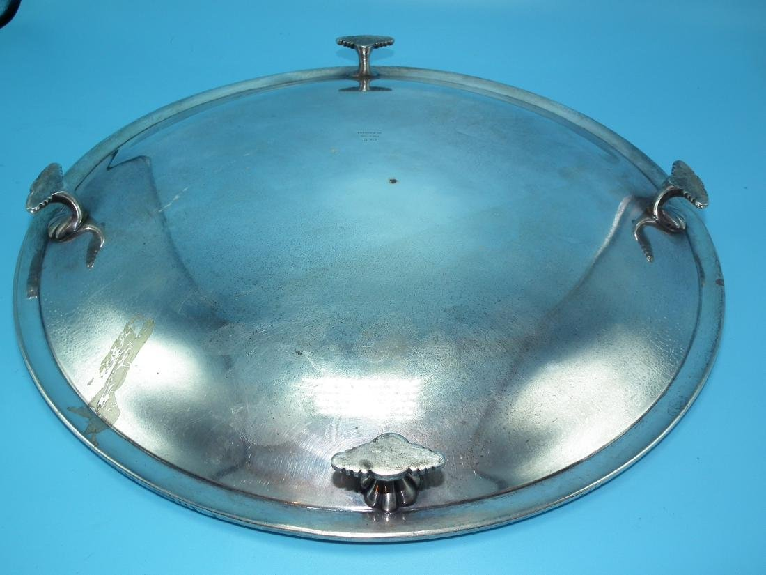 TIFFANY STERLING SERVING TRAY - 2