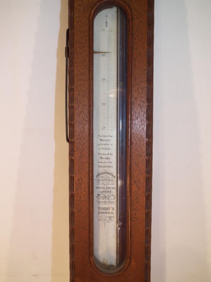 1857 MERRICK BAROMETER - 2