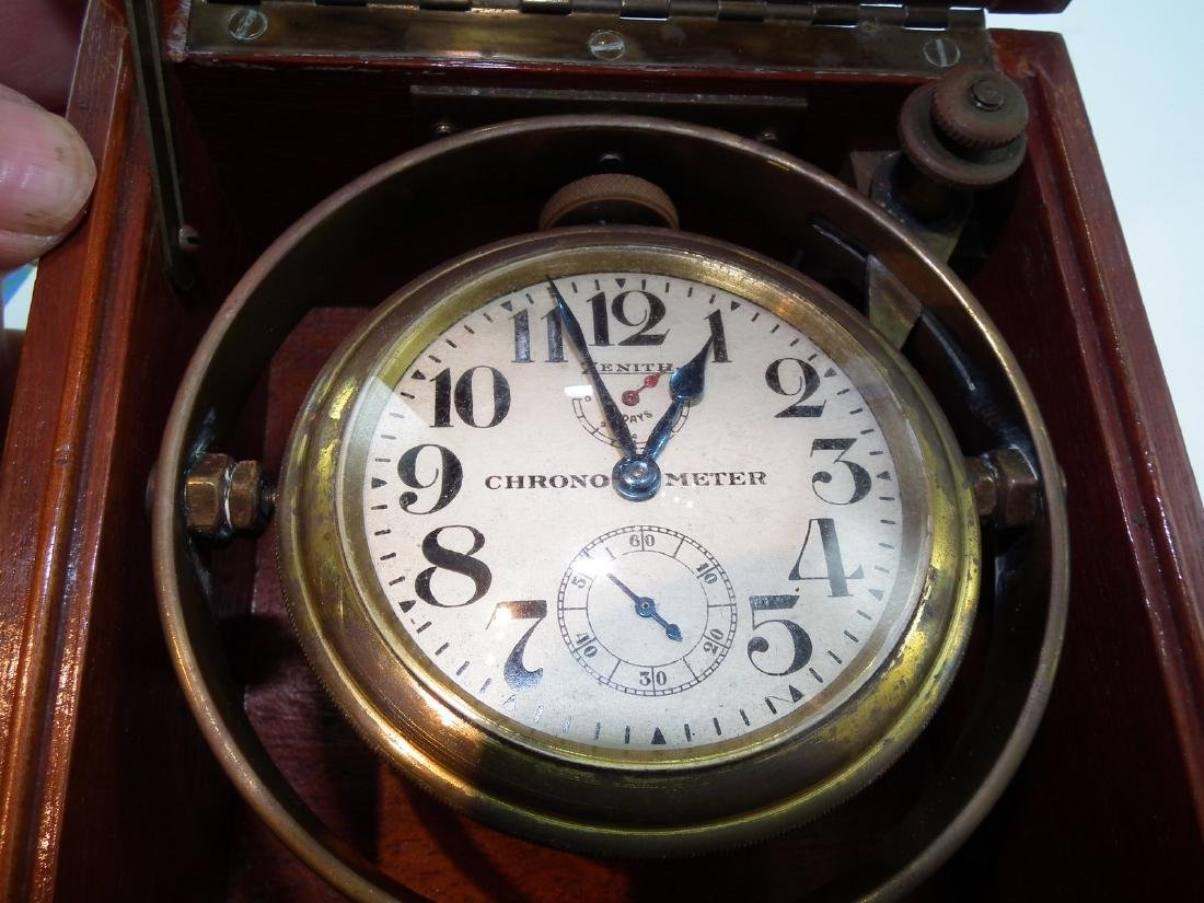OLD ZENITH SHIPS CHRONOMETER