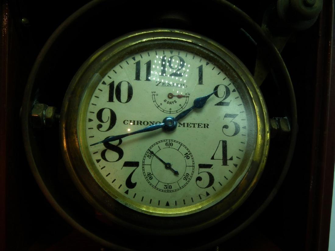 OLD ZENITH SHIPS CHRONOMETER - 3