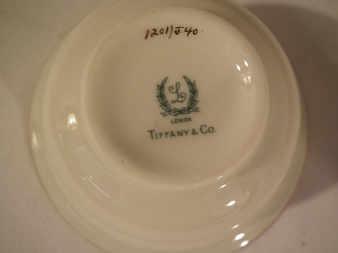12 LENOX TIFFANY & SILVER BULLION CUPS - 5