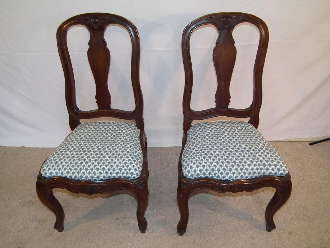 PR. 18TH C. FRENCH CHAIRS