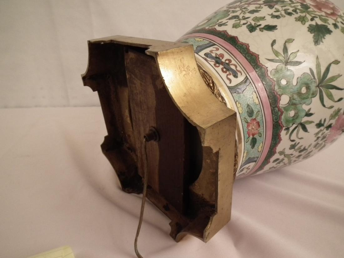 CHINESE GINGER JAR LAMP - 2