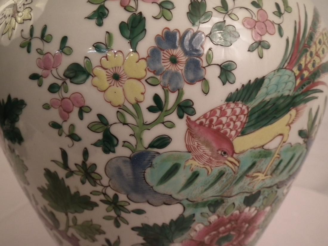 CHINESE GINGER JAR LAMP - 4