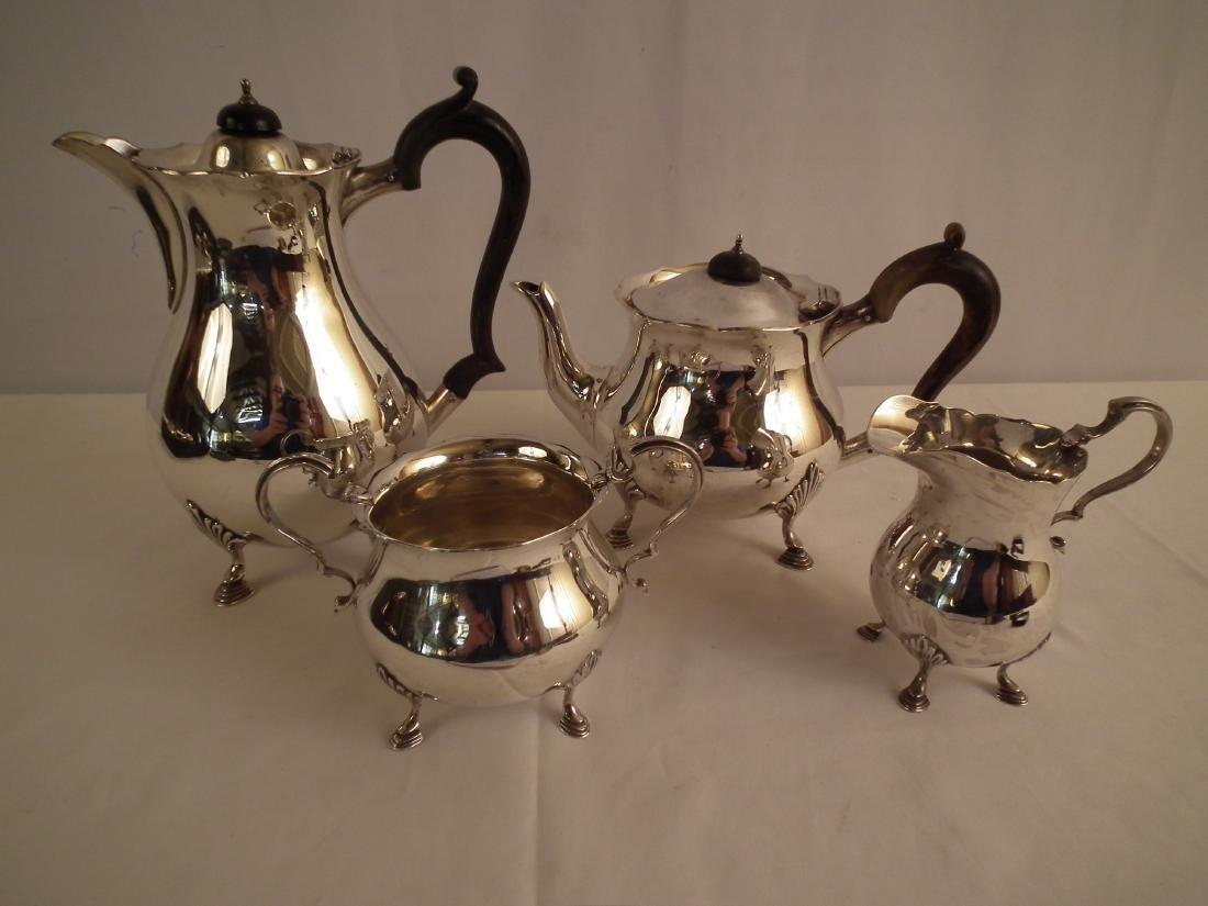 ENGLISH STERLING TEA SET