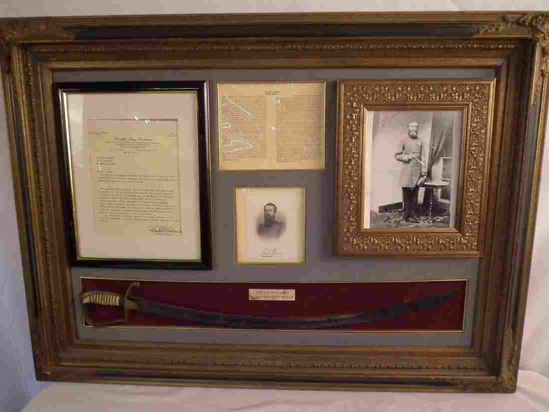 HISTORIC CONFEDERATE SWORD