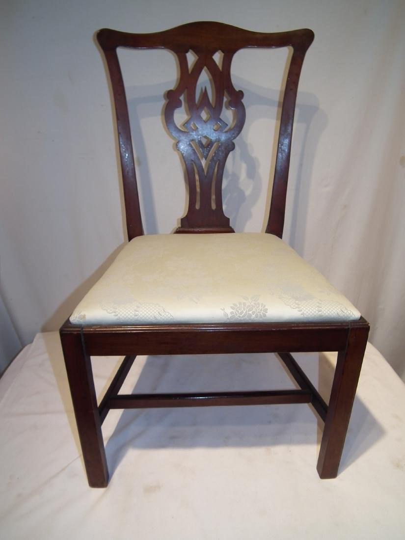 CT. PERIOD CHIPPENDALE CHAIR