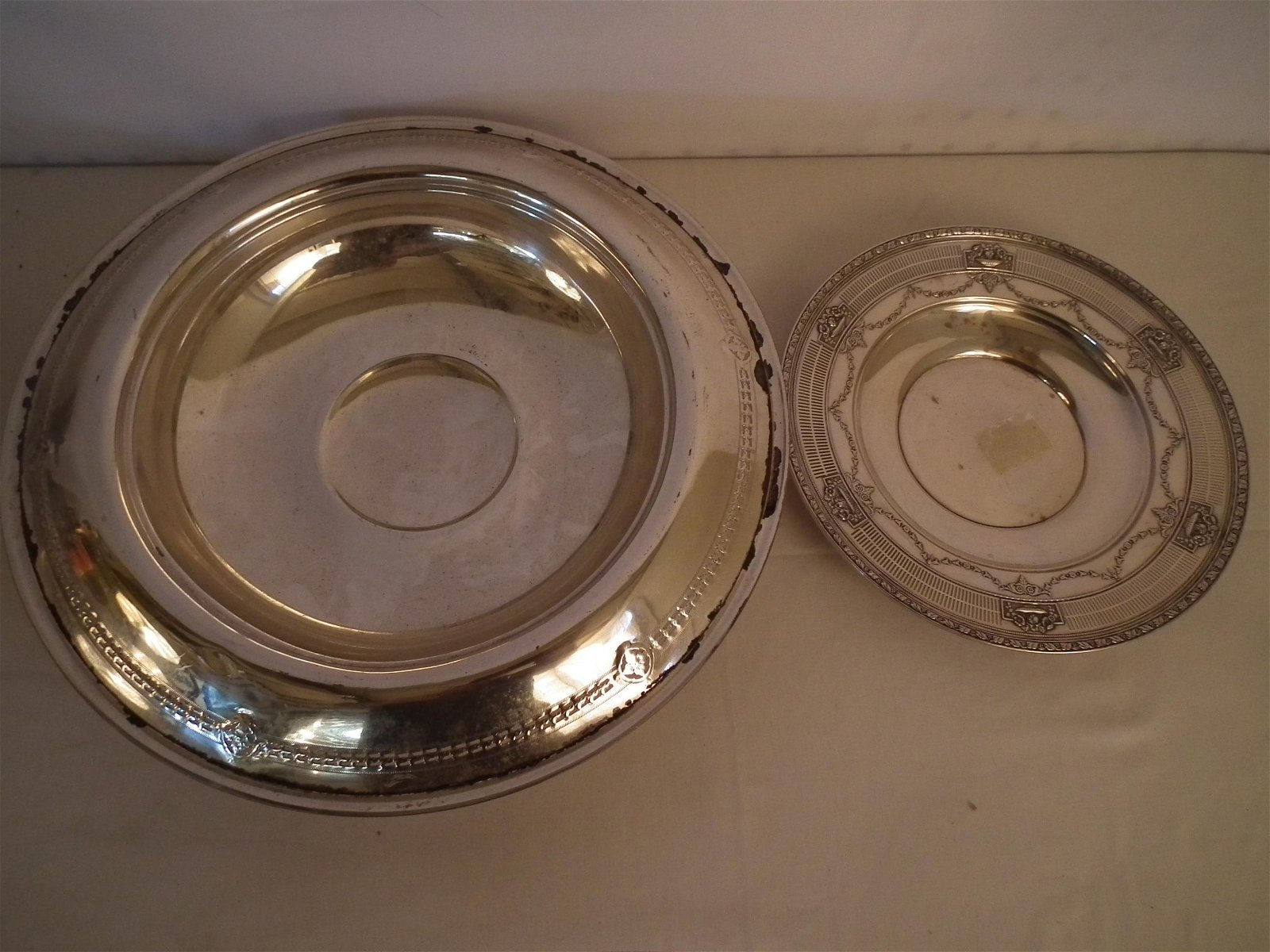 2 STERLING HOLLOWWARE ITEMS