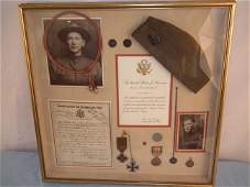 WAGNER WWI MEDALS GROUP