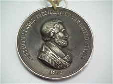 LINCOLN PEACE MEDAL 1862