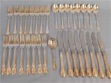 TOWLE LEGATO STERLING FLATWARE SET