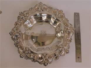 FANCY STERLING SILVER BOWL BY SMITH