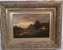 HENRY PEMBER SMITH PASTORAL PAINTING