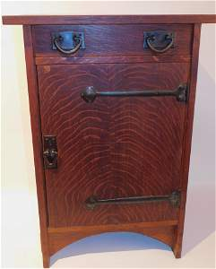 GUSTAV STICKLEY SMOKER'S STAND