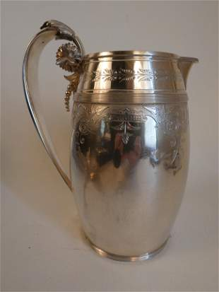 GORHAM STERLING AESTHETIC PITCHER