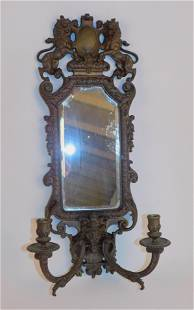 ANTIQUE BRONZE WALL SCONCE