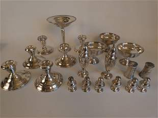 LOT ASSORTED STERLING ITEMS