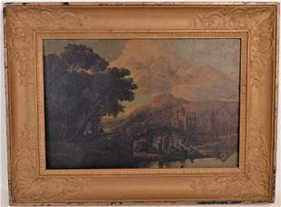 JB SARRAZIN EARLY FRENCH PAINTING