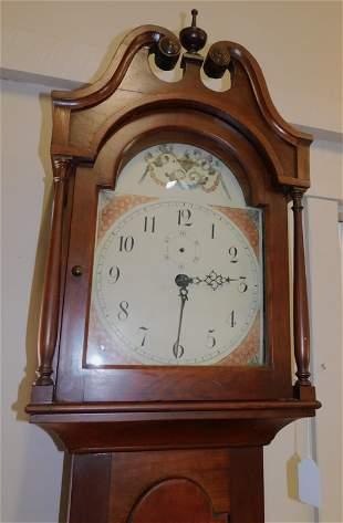 PERIOD MAHOGANY TALL CLOCK