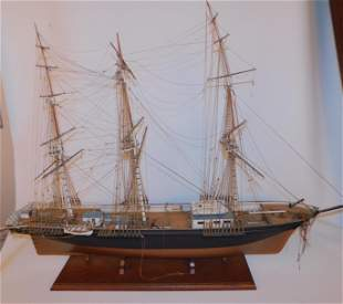 OLD SHIP MODEL OF SEA WITCH OF NY