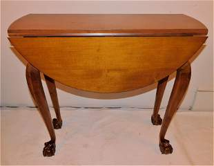 DIMINUTIVE CHIPPENDALE TABLE