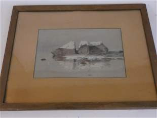 G. ROMIN SEASCAPE PAINTING